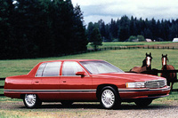 1995 Cadillac DeVille Base Sedan, 1995 Cadillac DeVille 4 Dr STD Sedan picture, exterior