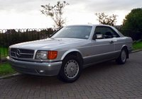 1990 Mercedes-Benz 560-Class Overview