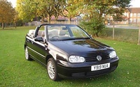 2001 Volkswagen Cabrio Picture Gallery