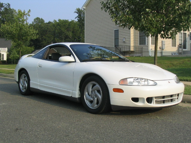 1995 Mitsubishi Eclipse GS-T Turbo, 1995 Mitsubishi Eclipse 2 Dr GS-T Turbo Hatchback picture, exterior