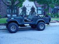 1983 Jeep CJ8 Overview