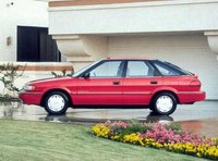Picture of 1990 Geo Prizm 4 Dr STD Hatchback, exterior