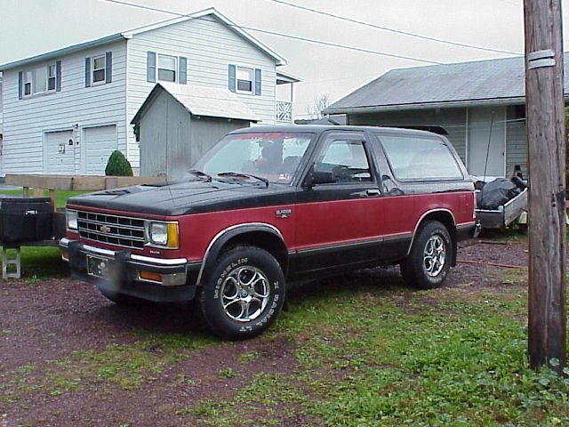 Picture of 1985 Chevrolet S-10 Blazer, exterior, gallery_worthy