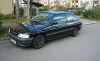 Picture of 1990 Ford Escort 4 Dr LX Hatchback, exterior