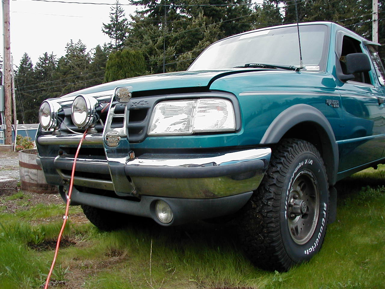 1993 Ford Ranger 2 Dr XLT 4WD Extended Cab SB Pictures