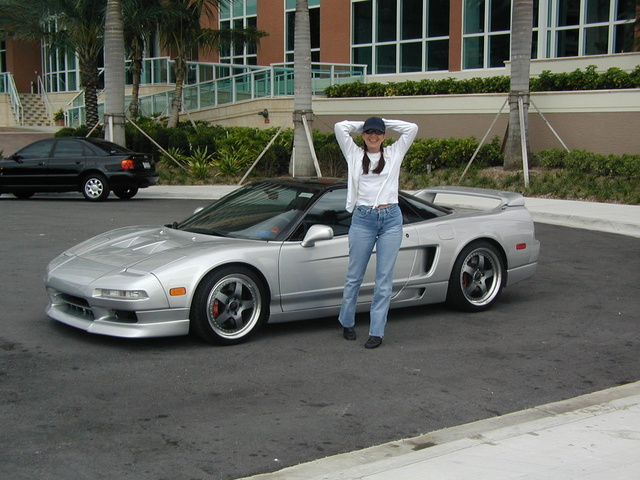1993 Acura NSX STD Coupe, DJ with my 1993 Acura NSX , exterior