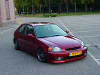2000 Honda Civic DX Hatchback picture