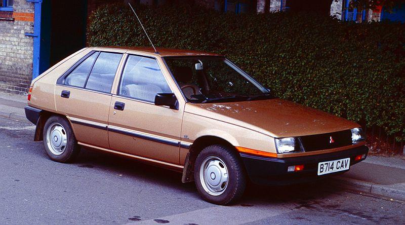 Mitsubishi Colt GTi-16V Turbo (1987)