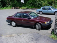 1990 Toyota Camry DX, 1990 Toyota Camry 4 Dr Deluxe Sedan picture, exterior