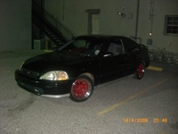 1996 Honda Civic Coupe DX picture, exterior