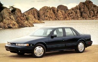 1996 Oldsmobile Cutlass Supreme, 1990 Oldsmobile Cutlass Supreme 2 Dr SL Coupe picture, exterior