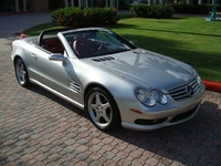 Picture of 2005 Mercedes-Benz SL-Class 2 Dr SL55 AMG Convertible, exterior