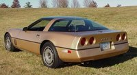 1984 Chevrolet Corvette Coupe RWD, This is a fully restored version of my car, exterior, gallery_worthy