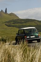 1998 Rover Mini, Mini 1.3i with sport option pack (1998). Picture shot 29th June, 2006 near Old Man of Storr, near Portree in Skye, Scotland (UK)., exterior