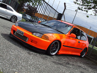 1994 Honda Civic Si Hatchback, 1994 Honda Civic 2 Dr Si Hatchback picture, exterior