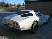 1972 Chevrolet Corvette Coupe, 1972 Chevrolet Corvette w/ Mako Shark Rear Window Mod, exterior