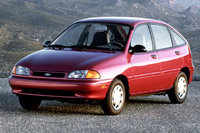Picture of 1997 Ford Aspire 4 Dr STD Hatchback, exterior