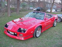 Picture of 1986 Chevrolet Camaro IROC Z Convertible, exterior