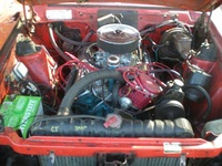 1977 AMC Hornet picture, engine