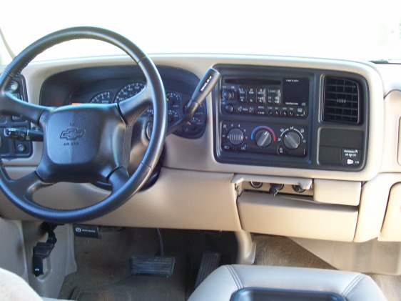 2002 Chevy Silverado Interior