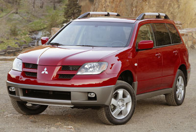 Picture of 2004 Mitsubishi Outlander XLS AWD, exterior