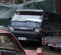 1991 Toyota Hiace Overview