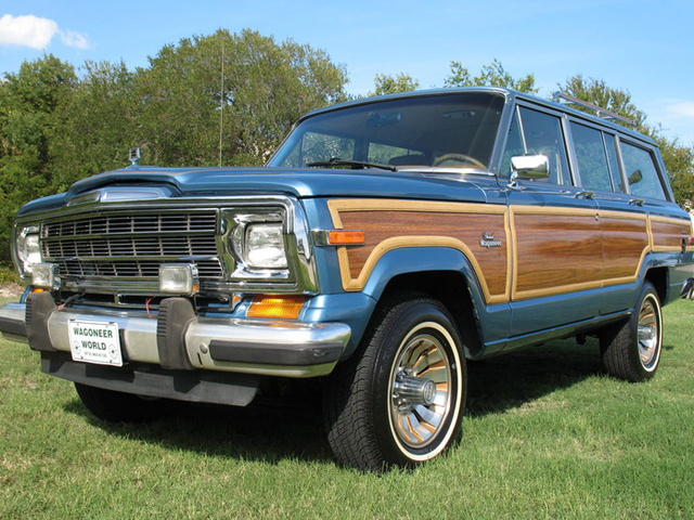 1986 Jeep Grand Wagoneer Pictures Cargurus