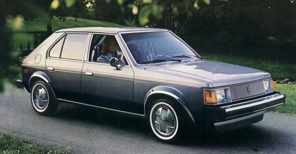 Picture of 1989 Plymouth Horizon, exterior, gallery_worthy