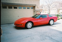 1993 Chevrolet Corvette Coupe, Picture of 1993 Chevrolet Corvette 2 Dr STD Hatchback, exterior