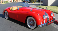 1955 Jaguar XK140 Overview