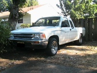 1991 Toyota Pickup 2 Dr Deluxe Extended Cab SB picture, exterior