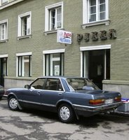 1983 Ford Granada, Ford Granada 2.5 GL Diesel (1983). Picture shot in July, 2006., exterior