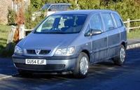 2004 Vauxhall Zafira Overview