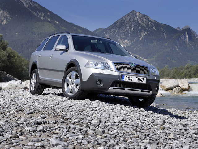 Picture of 2008 Skoda Octavia, exterior, gallery_worthy