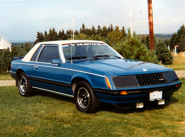 1979 Ford Mustang Ghia.My first car.