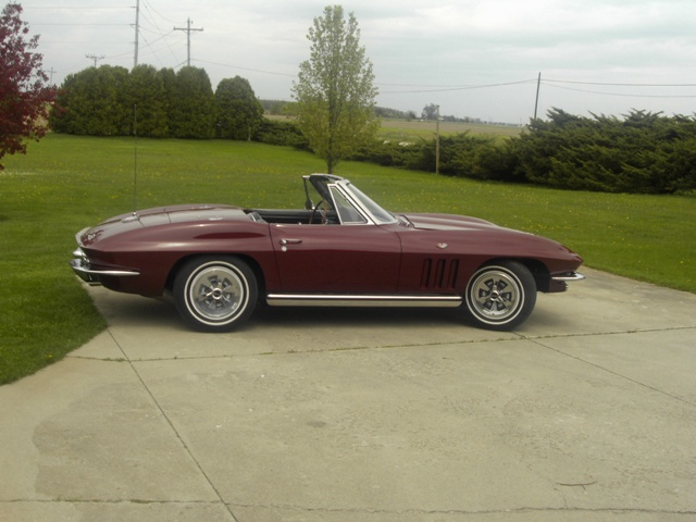 1965 Chevrolet Corvette Convertible Roadster picture, exterior
