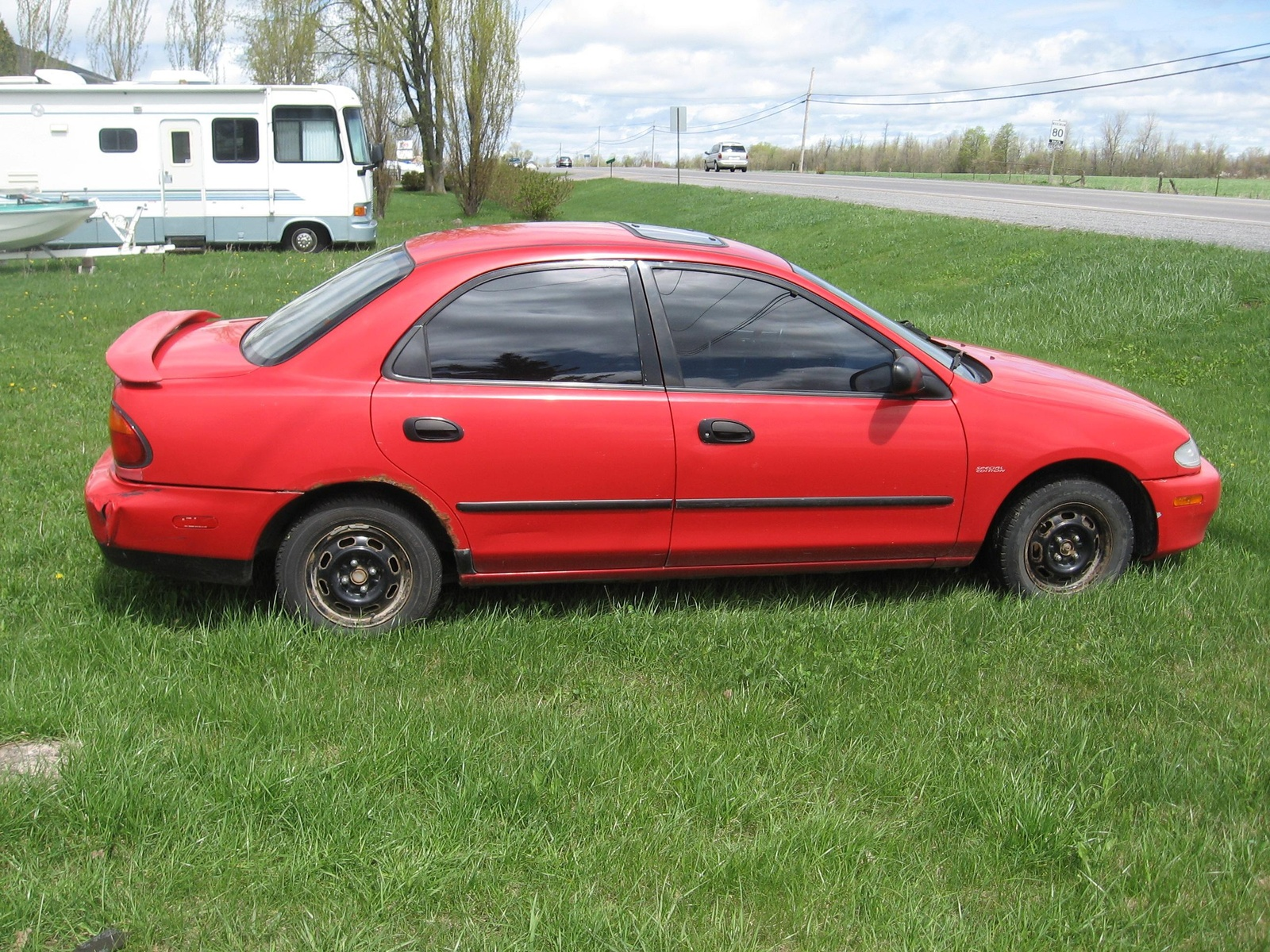 1996 Mazda Protege 4 Dr ES Sedan picture