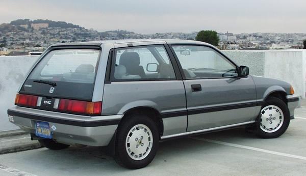1987 Honda Civic Si Hatchback, Mine was dark blue., exterior, gallery_worthy