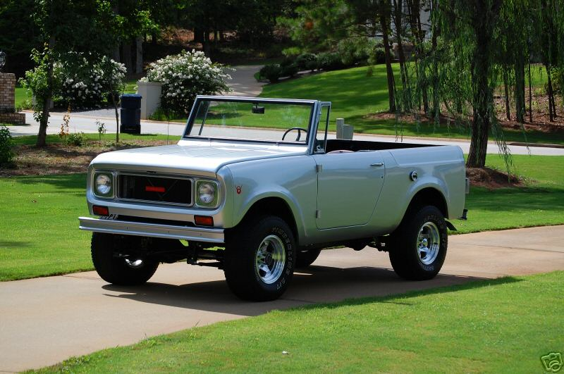 1964 International Scout http://www.cargurus.com/Cars/1965-International-Harvester-Scout-Pictures-c13936