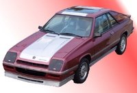 1987 Dodge Charger picture, exterior
