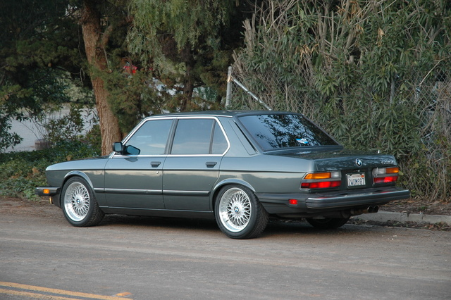 Picture of 1985 bmw 5 series 535i exterior