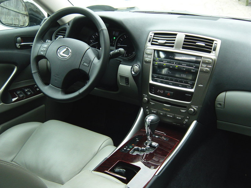 2007 lexus is 250 interior pictures cargurus. Black Bedroom Furniture Sets. Home Design Ideas
