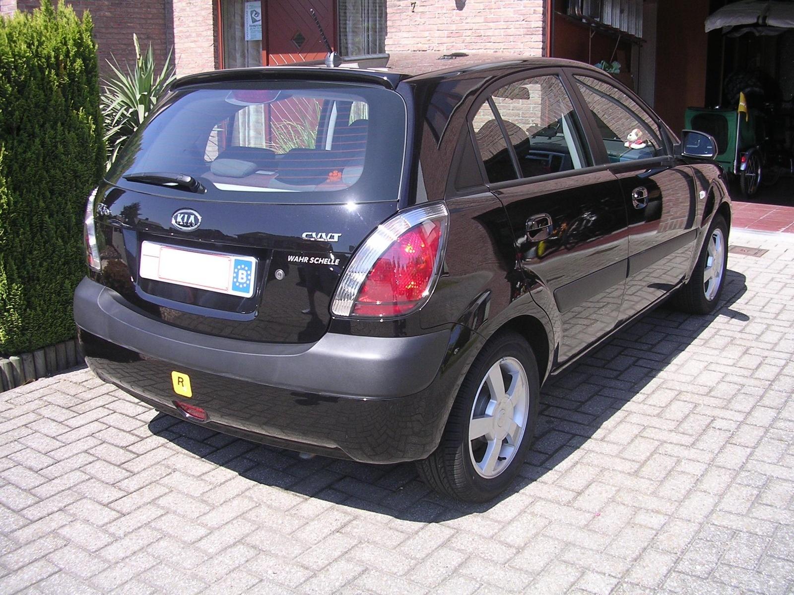 2007 kia rio sx sedan