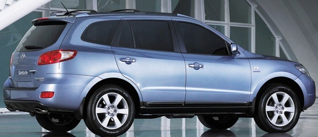 Picture of 2008 Hyundai Santa Fe Limited AWD, exterior