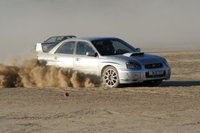 2005 Subaru Impreza WRX STI, at the dry lake El Mirage, exterior, gallery_worthy