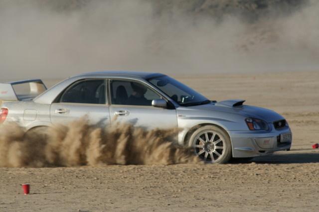 2005 Subaru Impreza WRX STI, at the dry lake El Mirage Drifting~, exterior, gallery_worthy