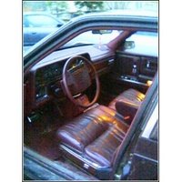 1991 Chrysler Imperial 4 Dr STD Sedan picture, interior