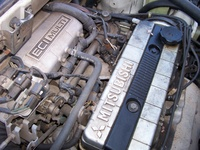 1987 Dodge Colt picture, engine