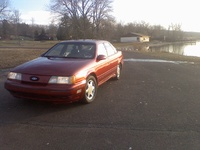 1991 Ford Taurus SHO, 1991 Ford Taurus 4 Dr SHO Sedan picture