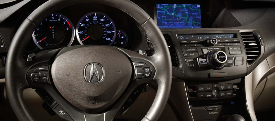 2009 Acura TSX, steering wheel, manufacturer, interior